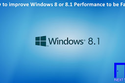 How to improve Windows 8 or 8.1 Performance to be Faster