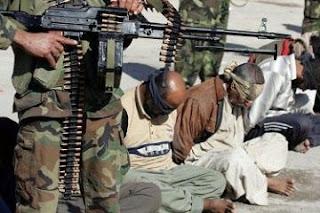 الأستخبارات العراقية و القوات الأمنية تعتقل  8 ارهابيين من داعش في ايمن الموصل