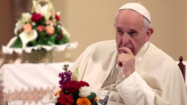 El papa culpa a Occidente de la muerte de niños en las guerras de Asia y África