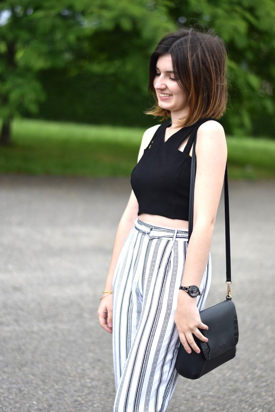 minimaliste outfit andré H&M