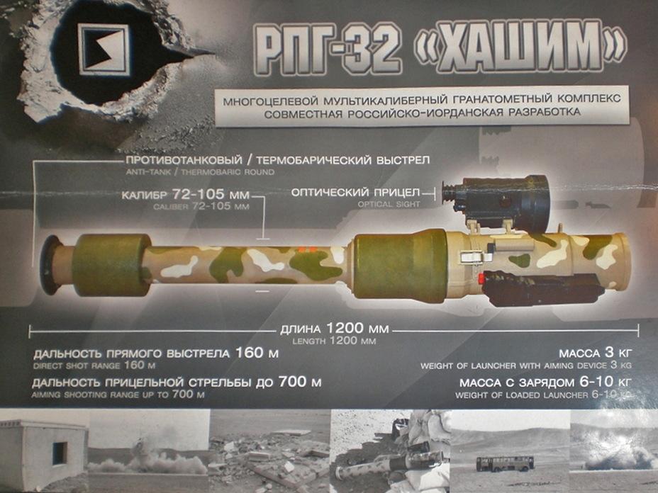 Гранатомет РПГ-32 в комплекті з 72-мм пострілом ТБГ-32В