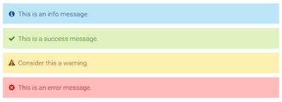 CSS3 Message Notification Box untuk Blogger