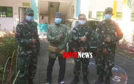 Warga Binaan Insan Pers di Kel Berua, Kec Biringkanaya, Makassar, Terima BLT Dari Pangdam Hasanuddin