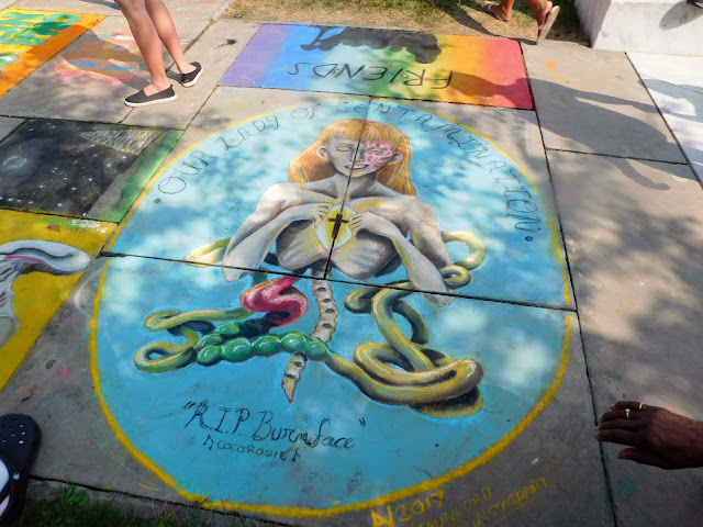 Cleveland Art Museum's Annual ChalkFest 2017