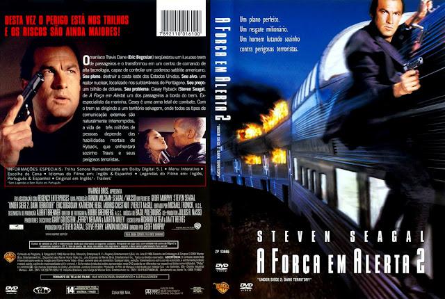 Capa DVD A Força em Alerta 2