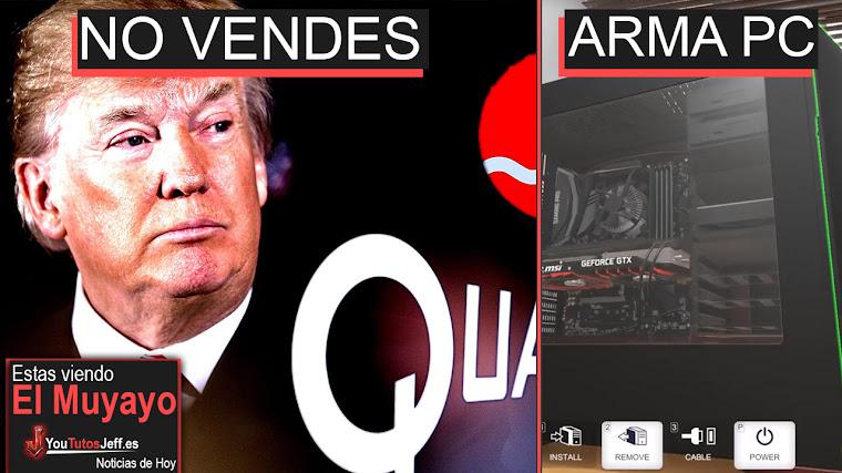 Trump Prohíbe la Compra de Qualcomm, Criptomonedas, Inteligencia Artificial y + | El Muyayo