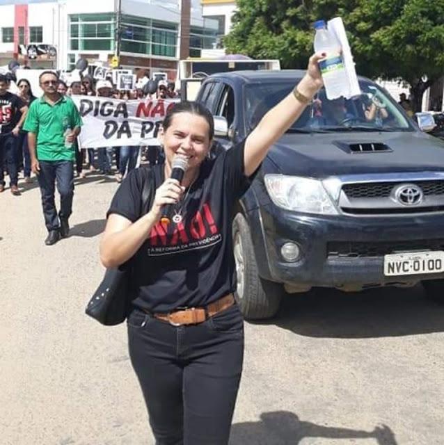 Sindicalista é eleita vice-presidente da Câmara Municipal de Aurora