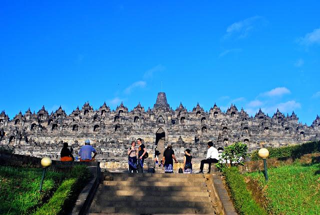 Levy Amosin at Borobudur Yogyakarta Indonesia