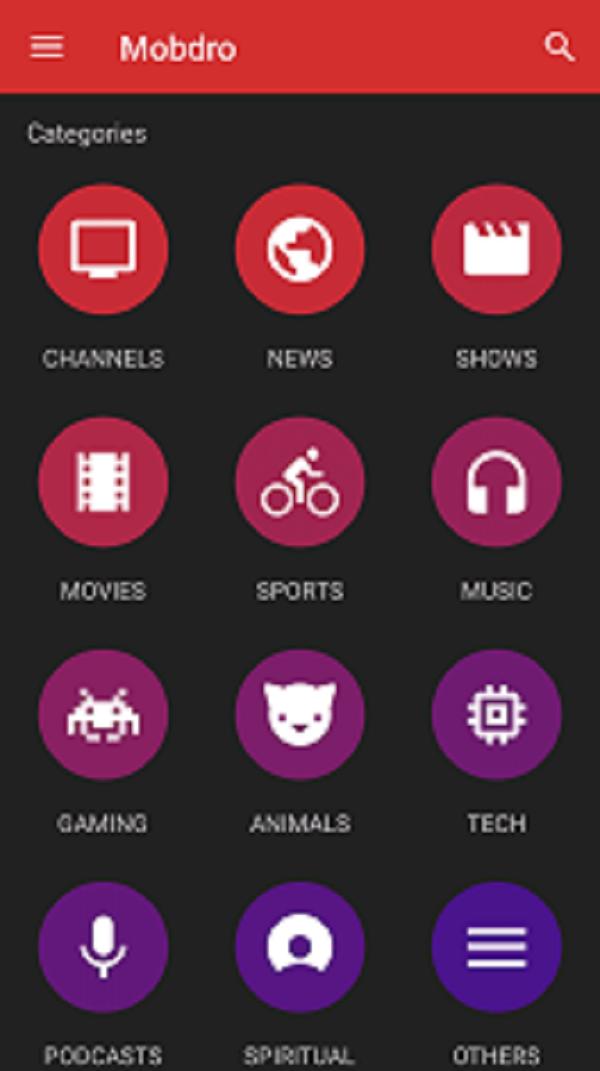 تطبيق Mobdro