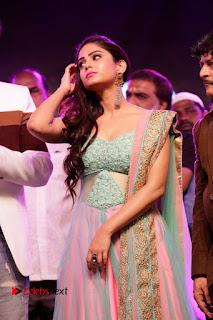 Actress Naina Ganguly Stills in Long Dress at Vangaveeti Audio Launch  0010.JPG