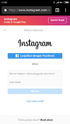 Ingin Tau 3 cara masuk instagram tanpa password? Begini Triknya