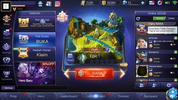 Cara Mendapatkan Battle Point Mobile Legends Gratis