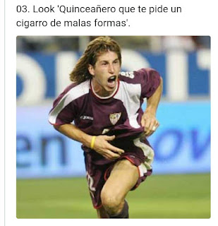 Sergio Ramos look quinceañero