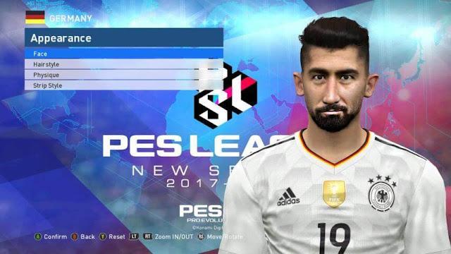 Kerem Demirbay Face PES 2017
