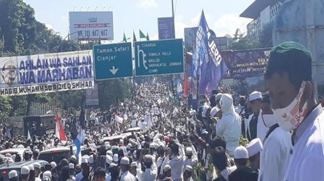 PA 211: Jika Habib Rizieq Diperiksa, Kerumunan Massa akan Lebih Besar