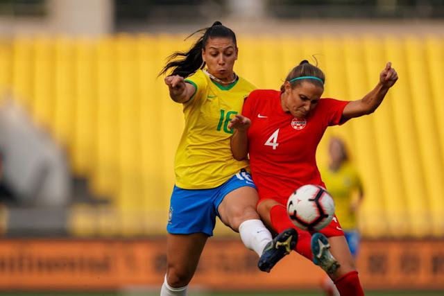 Brasil goleia Canadá e vai à final de torneio feminino na China