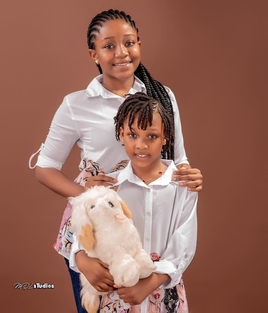 Thank you so much for choosing me to be your mother- Actress Oluwakemi korede celebrates her daughter 13th birthday today (Photos)
