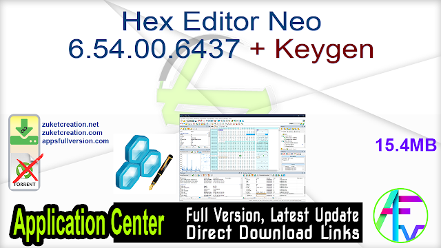 Hex Editor Neo 6.54.00.6437 + Keygen
