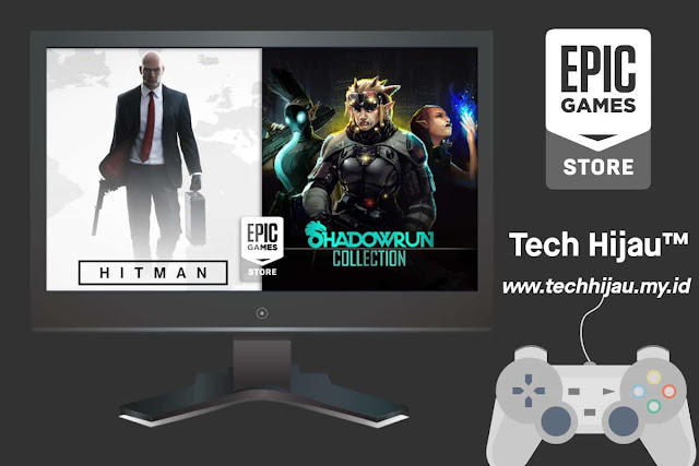 HITMAN dan Shadowrun Collection Gratis Epic Games