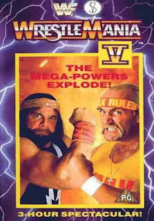 WWF / WWE: Wrestlemania 5 - Event poster