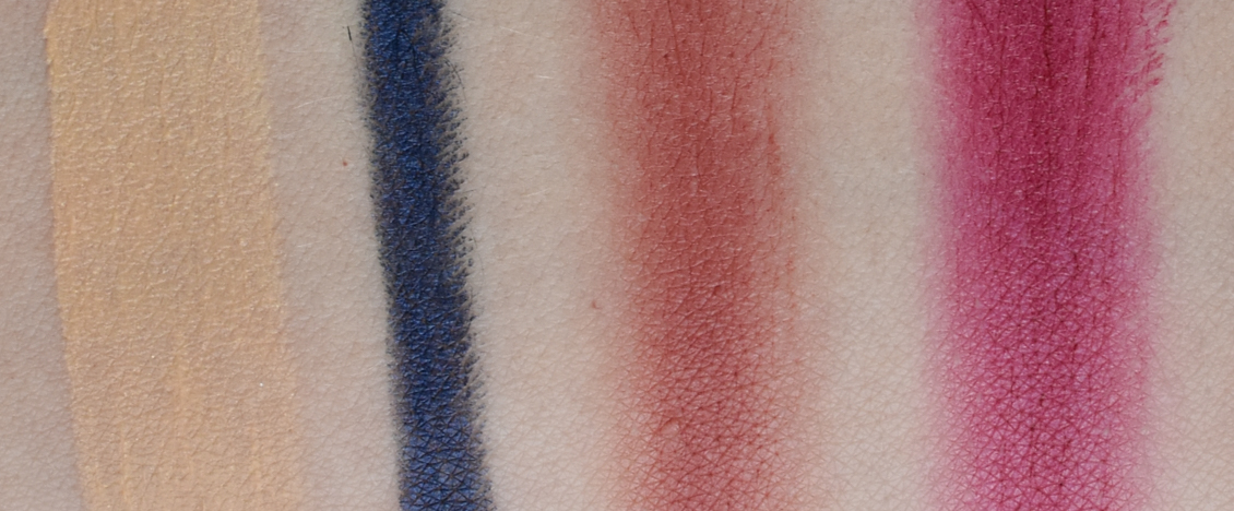 SOTHYS Box Herbst-Edition & Make-Up Kollektion Lidschatten Lippenstift Highlighter Swatches