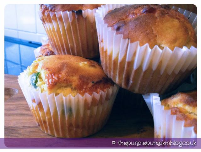 Chilli Cornbread Muffins