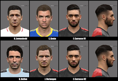 PES 2016 Facepack 5 by A.Mussoullini