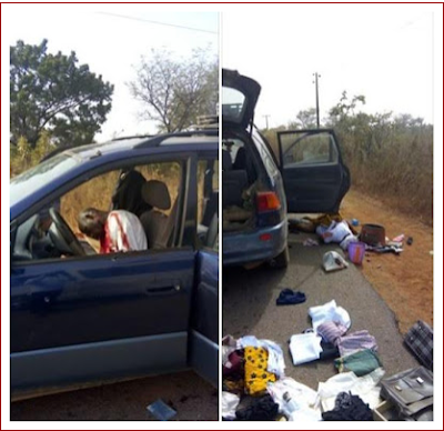 SO SAD!!! PAINFUL DETAILS ON HOW A PASTOR AND HIS WIFE WERE KILLED ON THEIR WAY FROM CONVENTION (GRAPHIC PHOTOS)