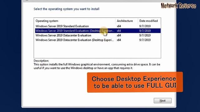How to install Microsoft Windows Server 2019 on VirtualBox 6.0