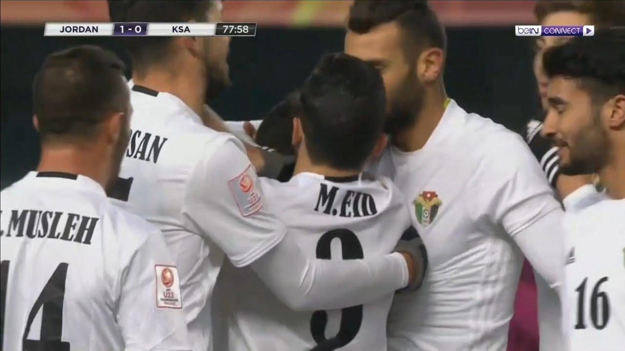 نتيجة مباراة الأردن والسعودية اليوم السبت 10/08/2019 بطولة اتحاد غرب آسيا