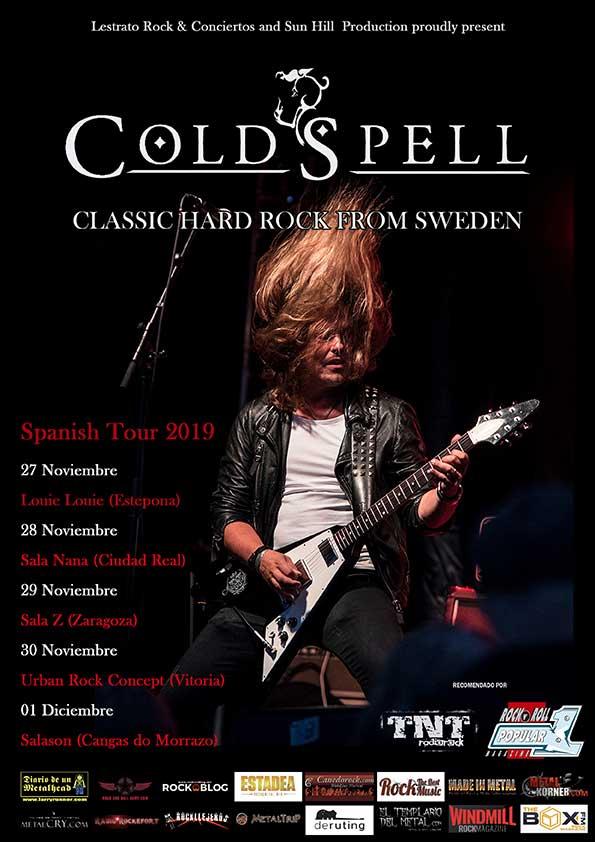 Coldspell tour