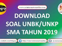 Download Soal UNBK-UNKP SMA 2019