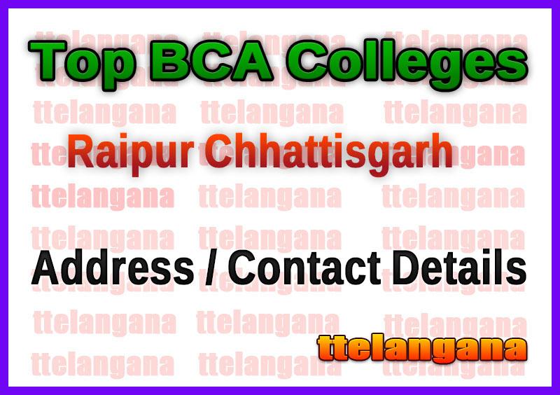 Top BCA Colleges in Raipur Chhattisgarh