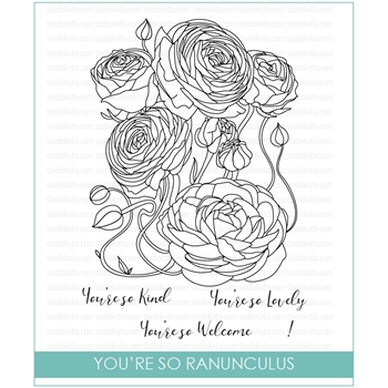 Studio Katia YOU'RE SO RANUNCULUS Stamp