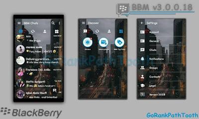 Download BBM Mod Transparan Terbaru Versi 3.0.0.18 Apk