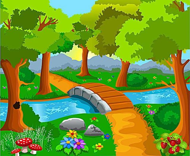 """حكاية  """"النهر الصغير"""" للأطفال"""
