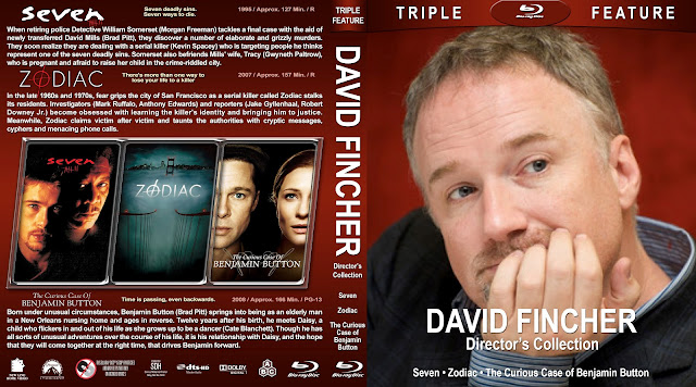 David Fincher Director's Collection Bluray Cover