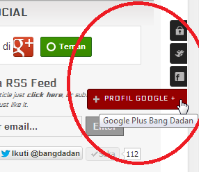 Cara Membuat Button Social Slide Disamping Blog