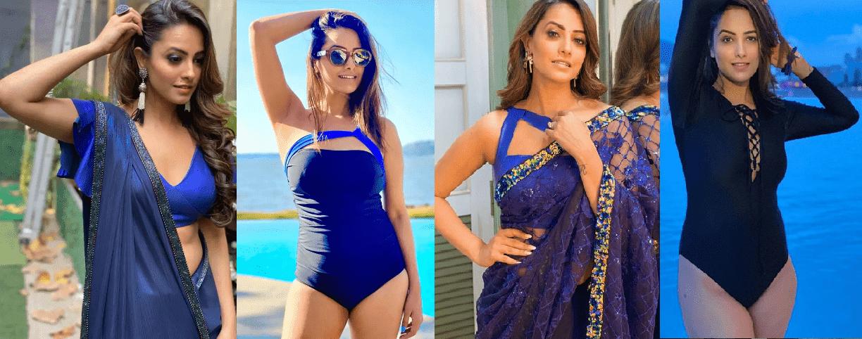 Naagin 4's Anita Hassanandani Top - 10 Avtar Sarees to monokinis