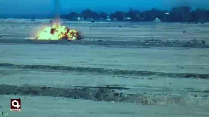 Δείτε κατάρριψη αζέρικου drone! (ΒΙΝΤΕΟ)