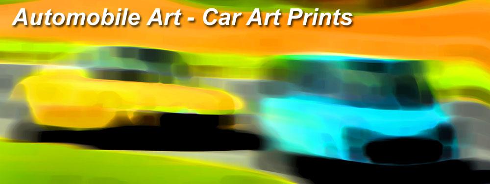 Automobile Art - car art prints. Ny fargerik fotokunst av biler. Bilder til alle hjem og vegger.