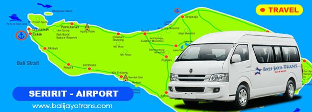 Transport Murah Seririt (SGJ) ke Bandara Ngurah Rai (DPS)