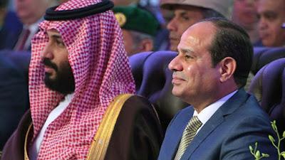 الرئيس السيسي يستقبل ولي العهد محمد بن سلمان