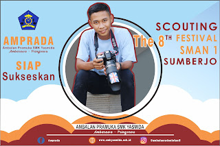 Foto Support The 8 Scouting Festival SMA N 1 Sumberjo