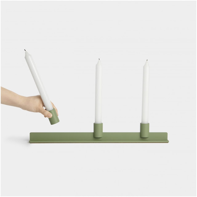 The Rail Candleabra designed by Jonah Takagi