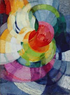 KUPKA« Disques de Newton », 1912, huile sur toile