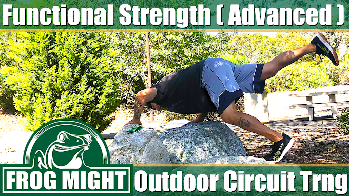 Functional Strength (Advanced) - Outdoor Circuit Training