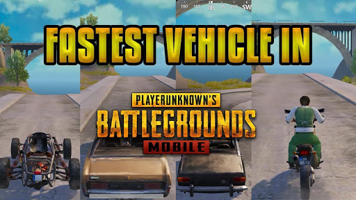 Pubg Mobile Hacks- Top 5 Fastest Vehicles in Pubg Mobile