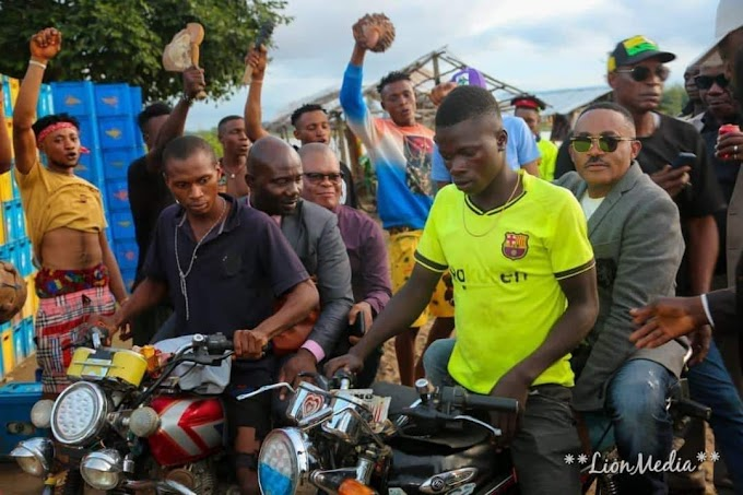 Anambra 2021: Dr. Maduka Takes Ward To Riverine Area On Motorcycle And Local Flying Boat To Salvage Ndi Anambra