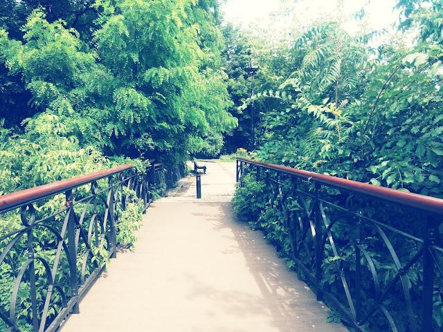 Мост влюбленных в Киеве